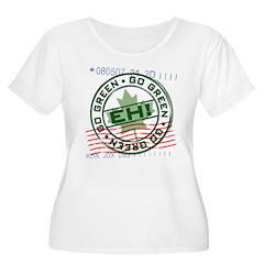 Go Green Canadian Environmental T-Shirt