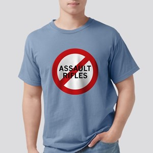 Ban Assault Rifles White T-Shirt