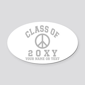 Class of 20?? Oval Car Magnet