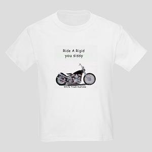 ride a rigid Kids T-Shirt