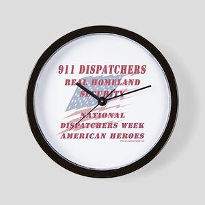 National Dispatchers Week Wall Clock