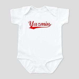 Vintage Yazmin (Red) Infant Bodysuit