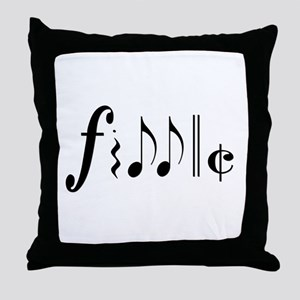 Great NEW fiddle design! Throw Pillow