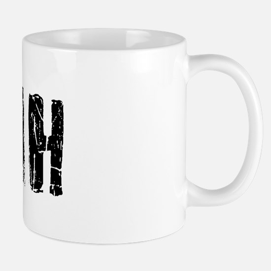 Myah Faded (Black) Mug