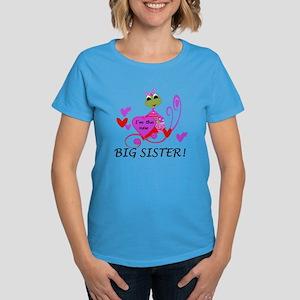 Frog Big Sister Women's Dark T-Shirt
