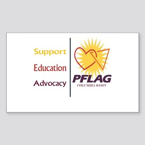 Support Education Advocacy - PFLAG Sticker