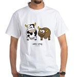 udder envy White T-Shirt