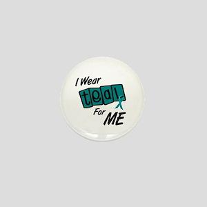 I Wear Teal 8.2 (ME) Mini Button