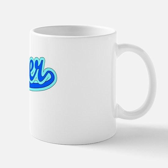Retro Chester (Blue) Mug