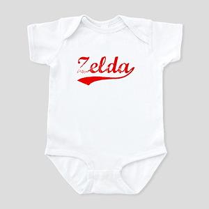 Vintage Zelda (Red) Infant Bodysuit