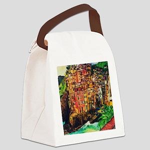 Cinque Terre Change Canvas Lunch Bag