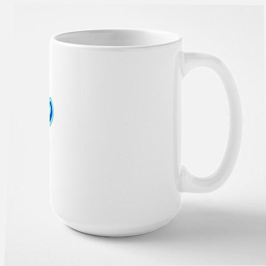 Retro Chico (Blue) Large Mug