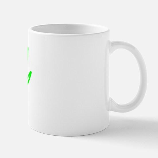 Vintage Bend (Green) Mug