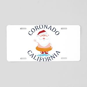 Summer coronado- california Aluminum License Plate