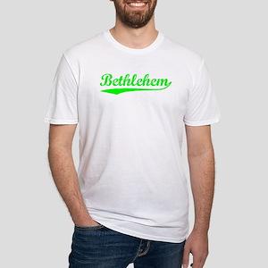 Vintage Bethlehem (Green) Fitted T-Shirt