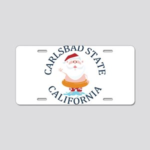 Summer carlsbad state- cali Aluminum License Plate