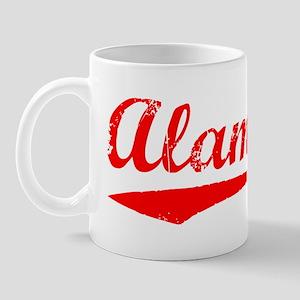 Vintage Alameda (Red) Mug