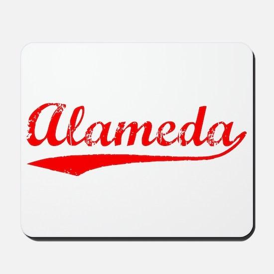 Vintage Alameda (Red) Mousepad