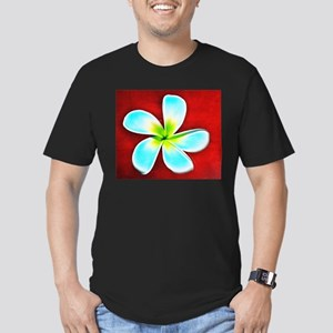 Flower Tropical Red White Turquoise Yellow T-Shirt