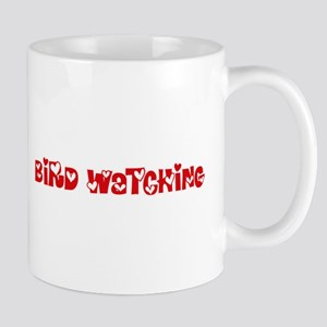 Bird Watching Heart Design Mugs