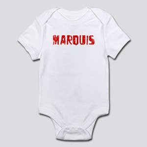 Marquis Faded (Red) Infant Bodysuit