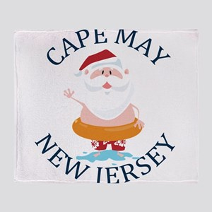 Summer cape may- new jersey Throw Blanket