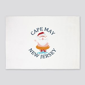 Summer cape may- new jersey 5'x7'Area Rug