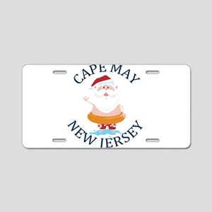 Summer cape may- new jersey Aluminum License Plate