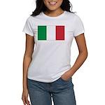 Italian Flag Women's T-Shirt