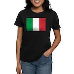 Italian Flag Women's Dark T-Shirt