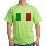Italian Flag Green T-Shirt