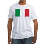 Italian Flag Fitted T-Shirt