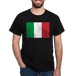 Italian Flag Dark T-Shirt