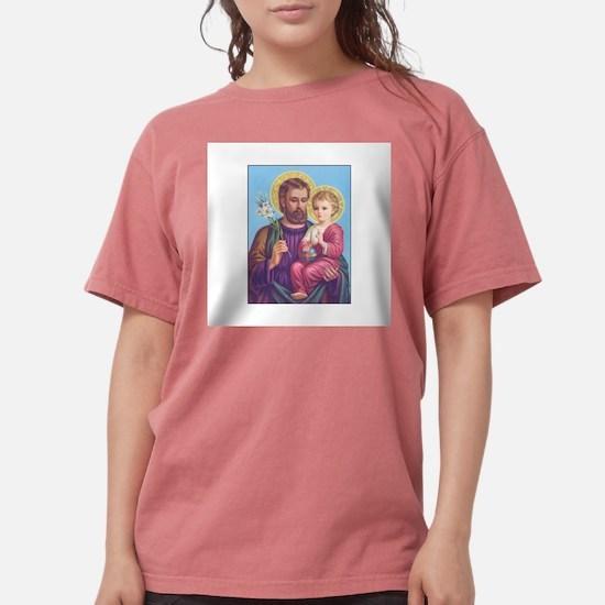 St. Joseph with Jesus Ash Grey T-Shirt