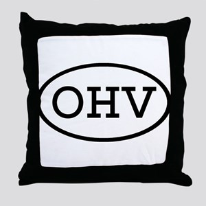 OHV Oval Throw Pillow