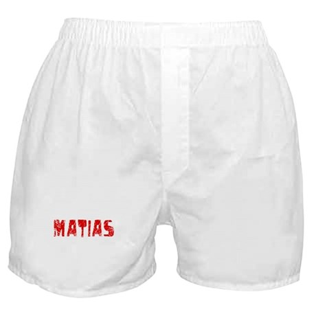 Matias Faded (Red) Boxer Shorts