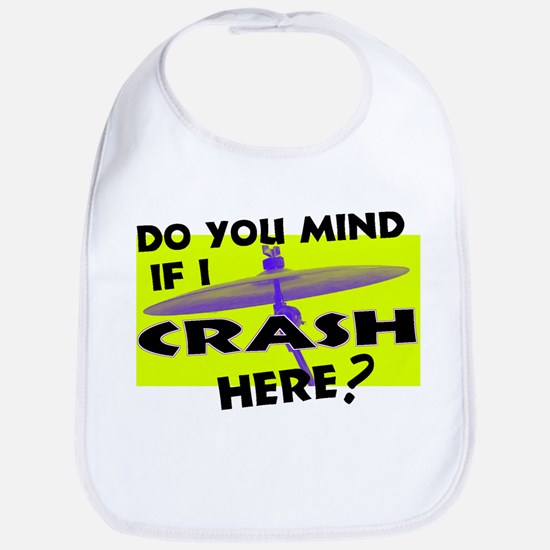 Crash Here? Bib