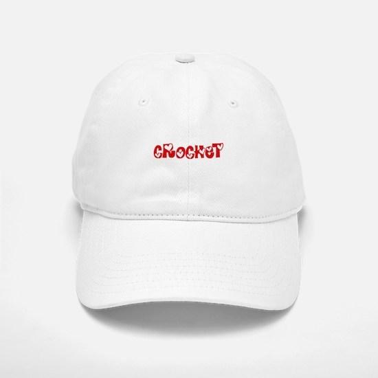 Crochet Heart Design Baseball Baseball Cap