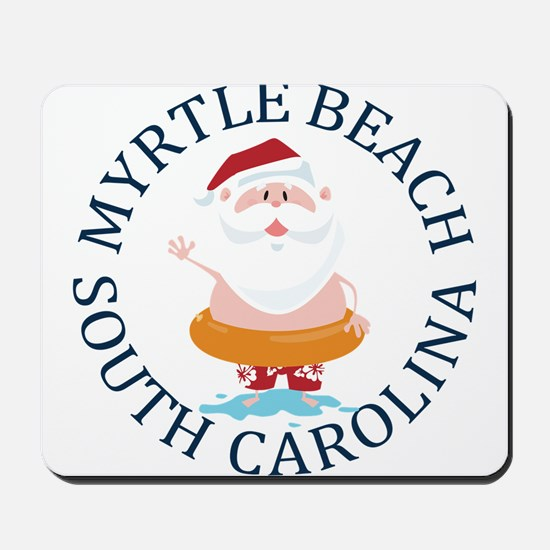 Summer myrtle beach- south carolina Mousepad