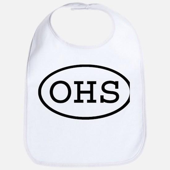 OHS Oval Bib