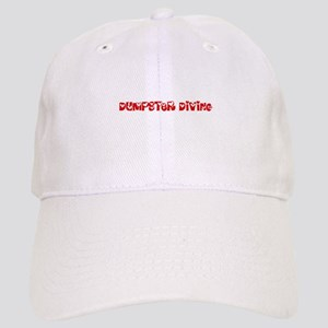Dumpster Diving Heart Design Cap