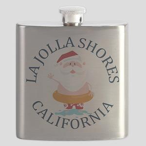 Summer la jolla shores- california Flask