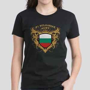 Number One Bulgarian Aunt Women's Dark T-Shirt