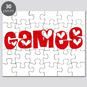 Games Heart Design Puzzle