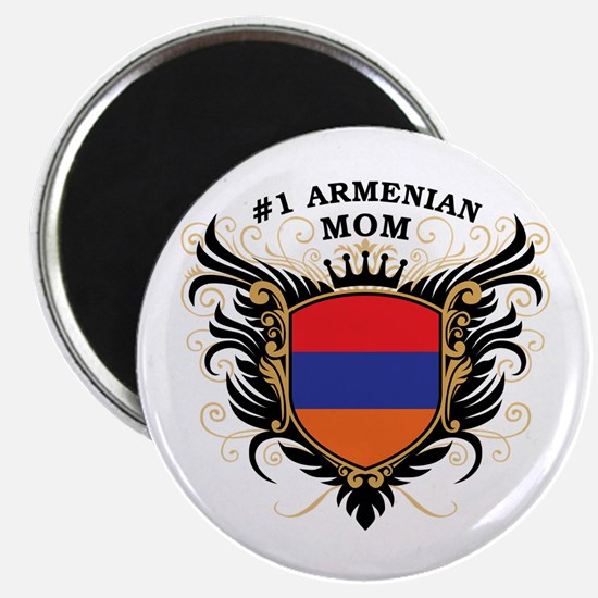 Number One Armenian Mom Magnet