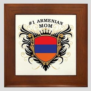 Number One Armenian Mom Framed Tile
