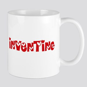 Inventing Heart Design Mugs