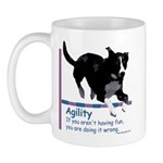 Have Fun in Agility Mug