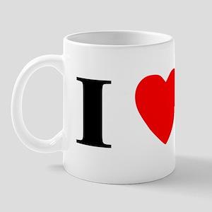 I Heart PBGV Mug