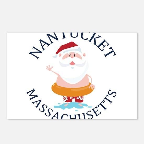 Summer nantucket- massach Postcards (Package of 8)